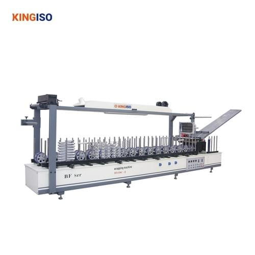 High Quality Rolling Coating type Profile Wrapping Machine for PVC