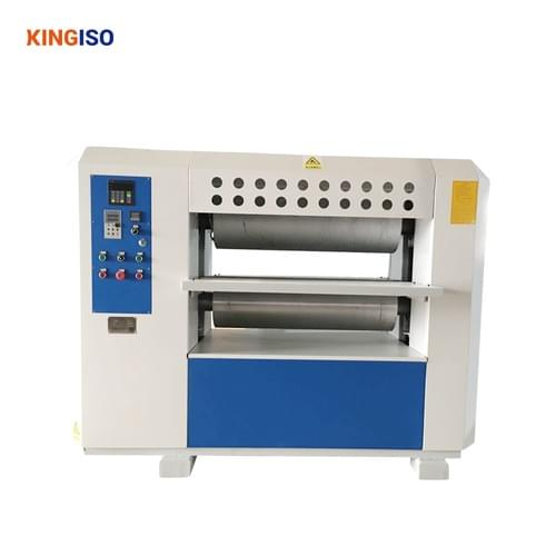 Wood grain embossing machine