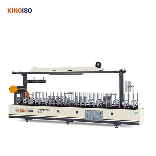 BF300A Profile Wrapping Machine For PVC Film para pegar perfil