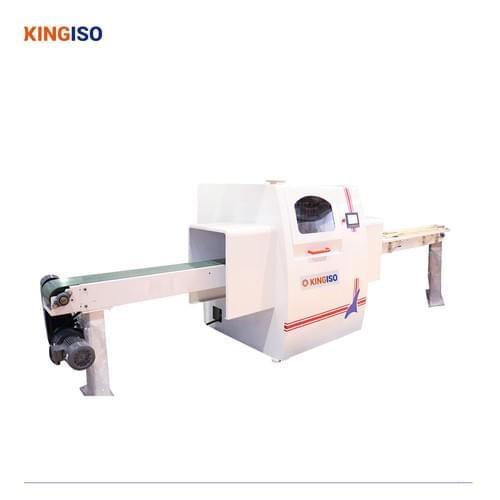Full Automatic Computer Control Cross Cut Saw KI1200 Optimizing Cross Cut Saw for Door Frame