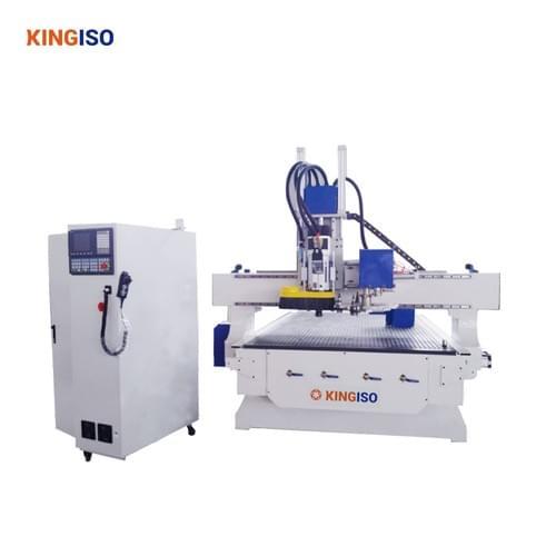 KI1325S-ATC Rotary 8 China KINGISO Brand Wood CNC Router Machine