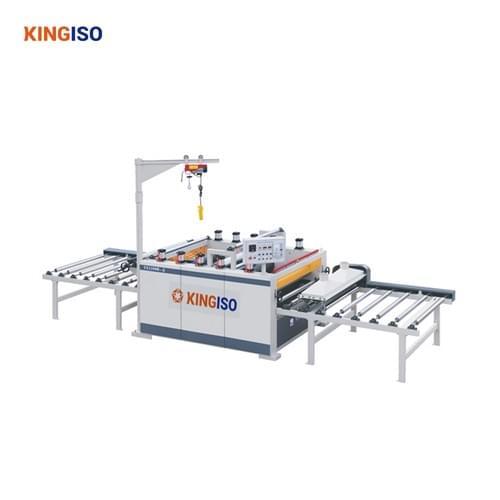 Furniture silicone paper sticking machine for sale