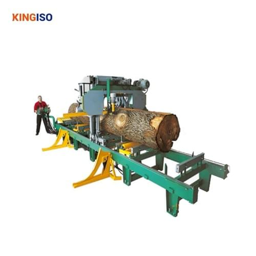 MJ1000H Electric Automatic Hydraulic Horizontal Band Sawmill machine