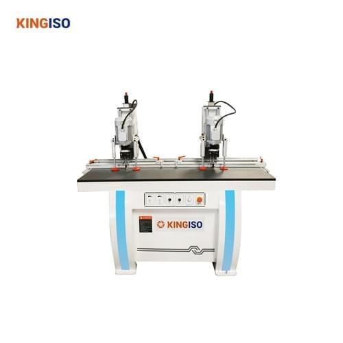 double head hinge drilling machine