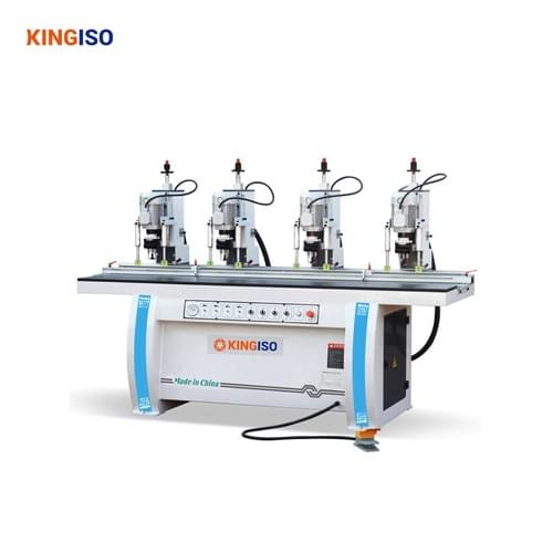 four head hinge drilling machine