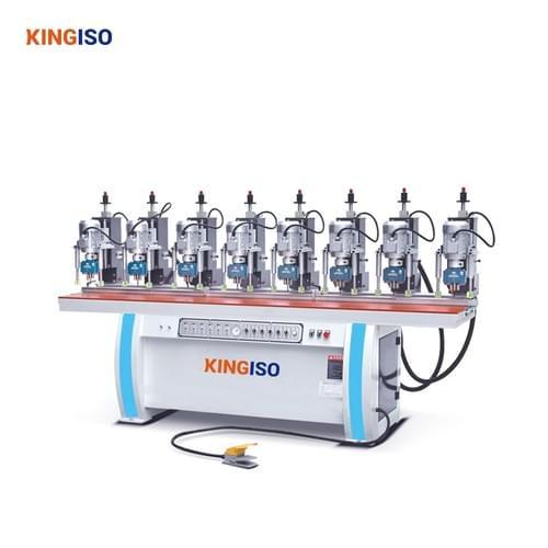eight head hinge drilling machine