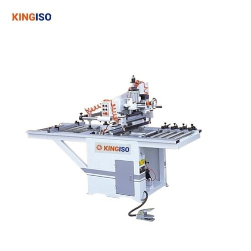 double line wood drilling machine