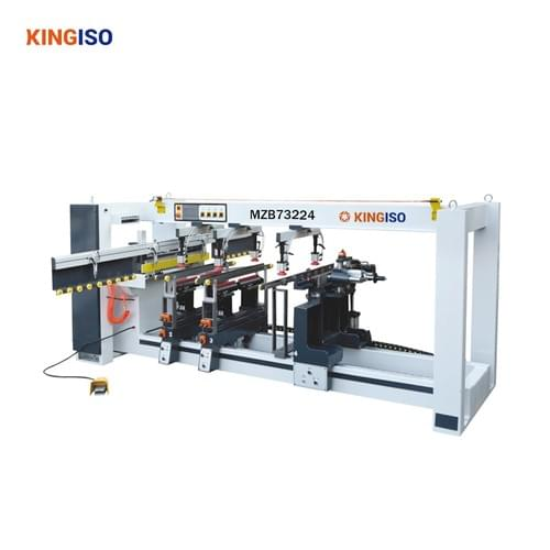 four line double power wood drilling machine