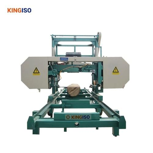 Timber Cutting Band Saw MJ1000 Diesel Portable Sawmill for Log
