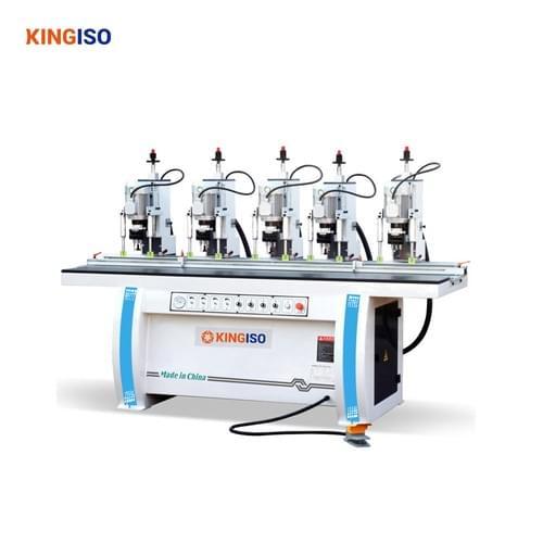 five head hinge drilling machine