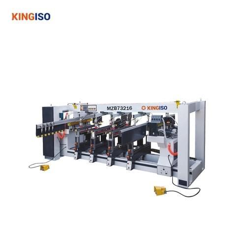 six line wood drilling machine