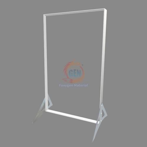 Foxygen 1*2meters Popular advertising display stand led frames backlit light box in bulk