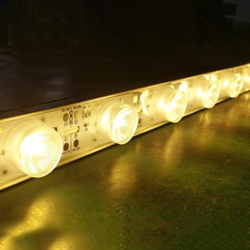 12V White Backlit Light Strip Slim LED Edge Lit Hard LED Strip