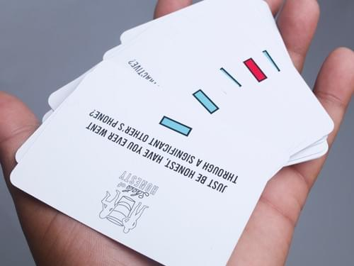 SHOTS OF HONESTY CARD GAME