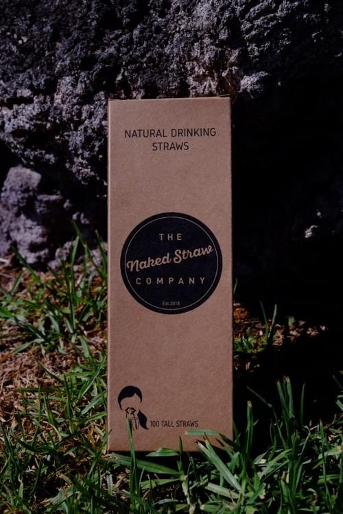 The Naked Straw - Weizen Strohhalm -Natuerlicher Trinkhalm
