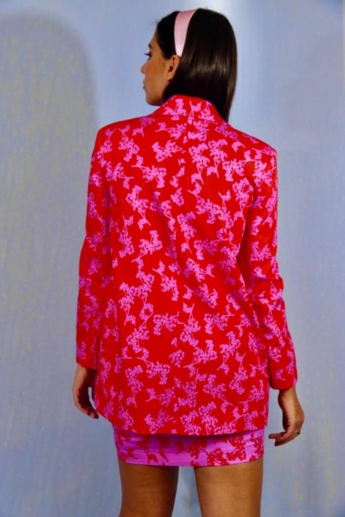 Blazer Demetrios Rouge