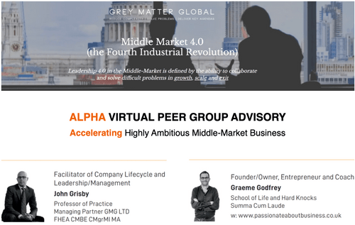 ALPHAS Peer Group