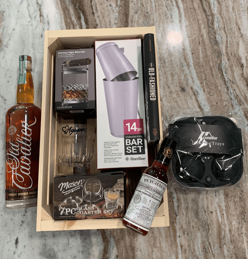 """""""The Old Fashioned"""" - Father's Day Gift Basket"""