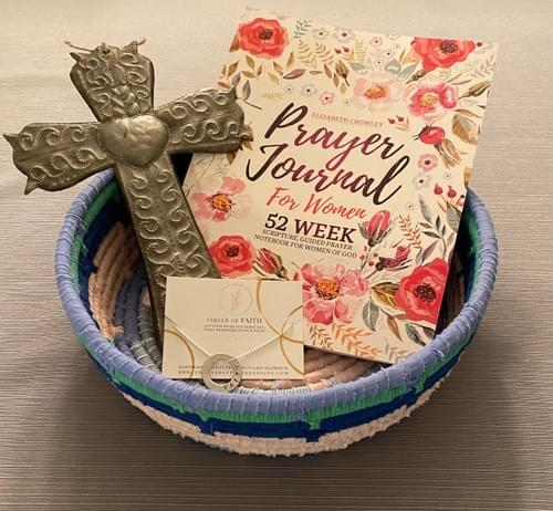 """""""Devoted Mom's Devotional"""" Mother's Day Gift Basket"""