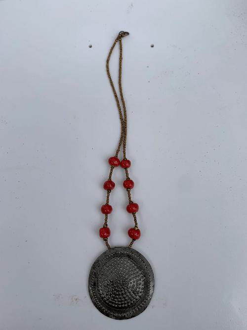 Metal Works Flower Necklace