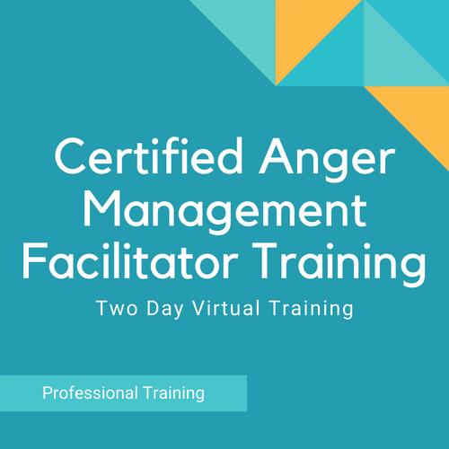 2 Day Virtual Anger Management Training Seminar (2021 Dates)