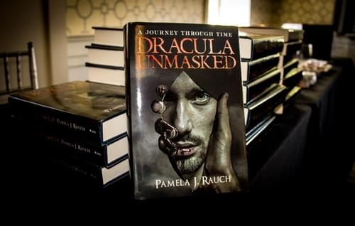 DRACULA UNMASKED - Signed Hardback Limited Edition w/ Bookmark