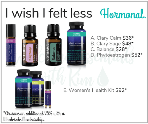 I wish I felt less Hormonal