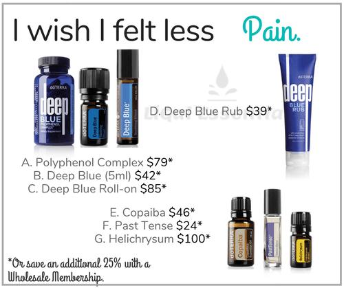 I wish I felt less Pain