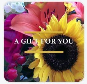 Square Gift Certificate - Bouquet
