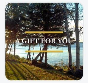 Square Gift Certificate - Trees