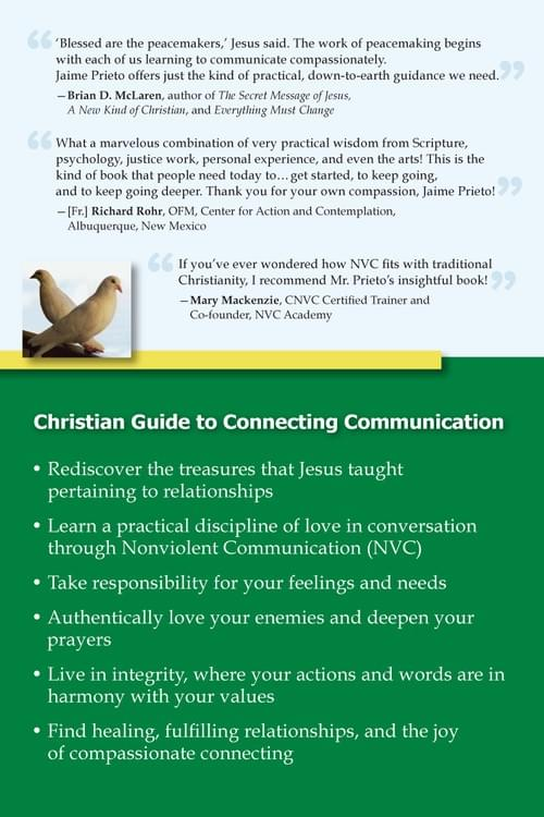 SignedBook: The Joy of Compassionate Connecting - The Way of Christ Through Nonviolent Communication