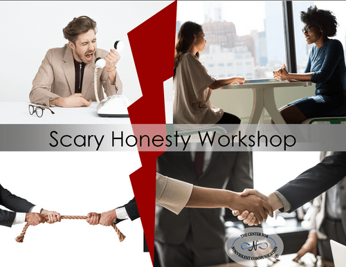 FREE Scary Honesty with NVC Workshop Sat Apr 24 @10am Pacific (Online)