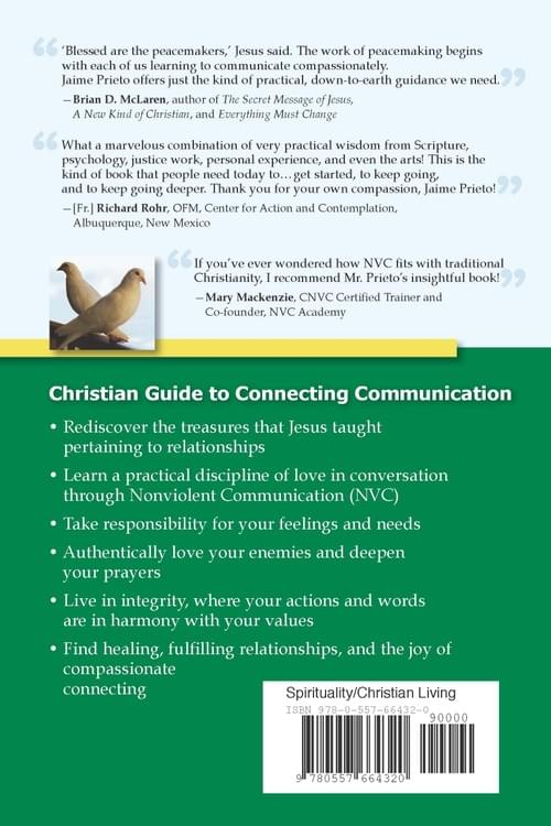 Signed Book: The Joy of Compassionate Connecting - Way of Christ Through Nonviolent Communication