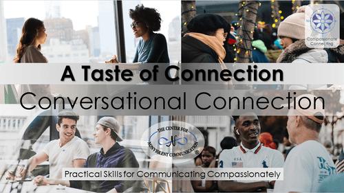 A Taste of Connection Workshop Sat Sep 25 @10am PDT (FREE, Online)