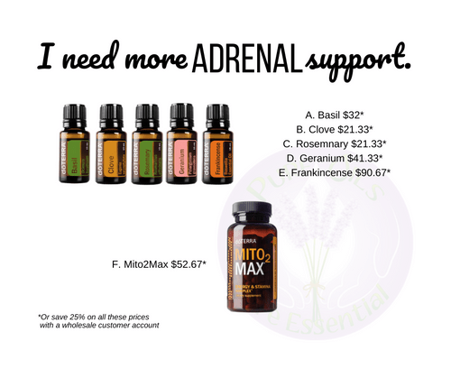 I need more Adrenal support