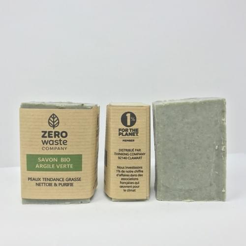 SAVON BIO A L'ARGILE - Peau tendance grasse - Nettoie & purifie
