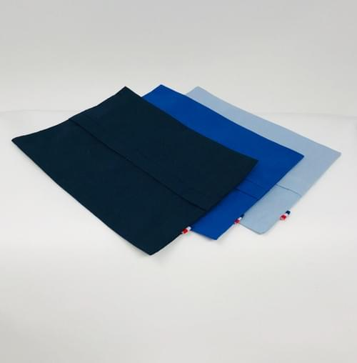 TROUSSE COTON 100% BIO - 3 couleurs disponibles