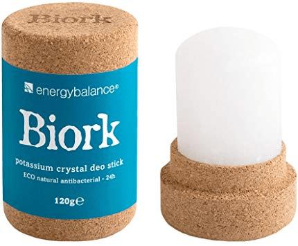BIORK © DEODORANT BIO & 100 % NATUREL - 24h efficacité - Taille XXL (durée 1 an)