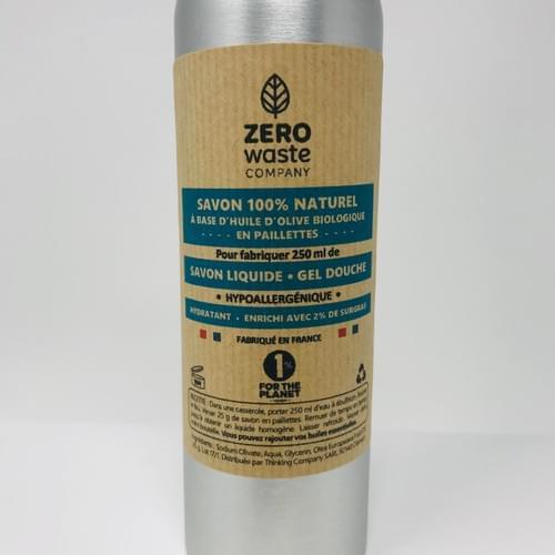 DIY - SAVON LIQUIDE / GEL DOUCHE BIO - à fabriquer soi même - 250 ml (bouteille alu)