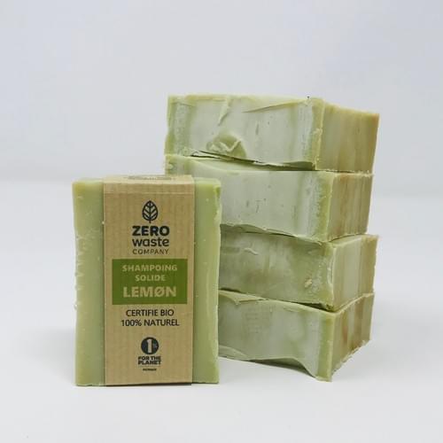 Shampoing solide effet volume 80 g - Certifié Bio