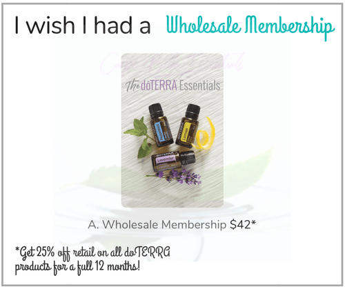I wish I had a Wholesale Membership