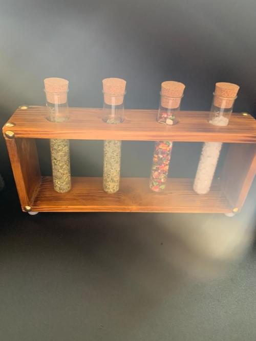 Test tube wooden freshener