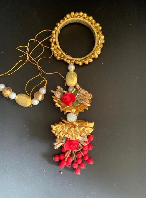 Floral Rakhi Loomba Set