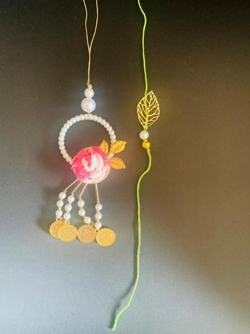 Coin Rakhi Loomba Set