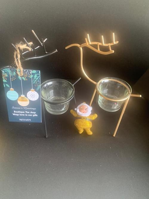 Reindeer T-lights