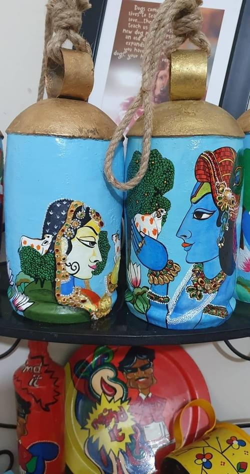 Hand painted bells