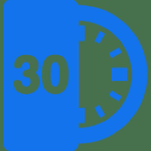 30 minute virtual meeting
