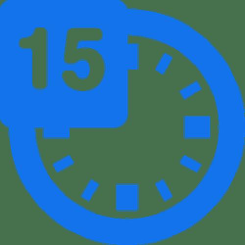 15 minute virtual meeting