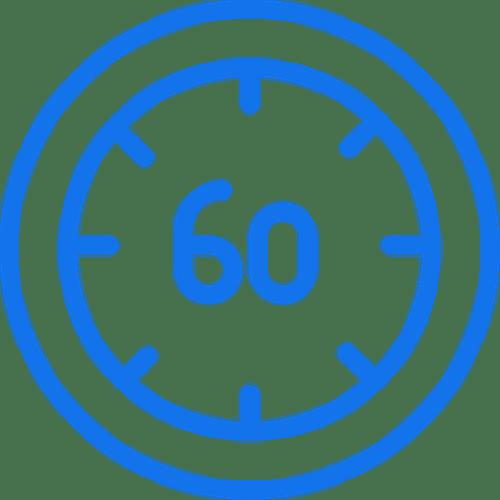 60 minute virtual meeting