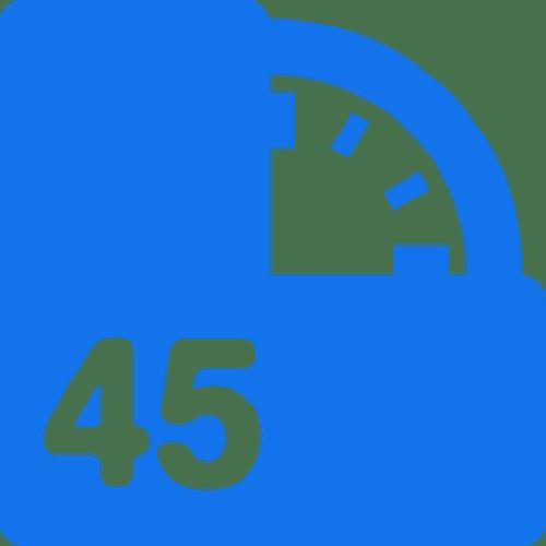 45 minute virtual meeting